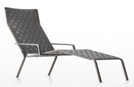 Rest Chaise Longue Lounger by Kristalia