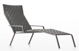 Rest Chaise Longue Lounger by Kristalia