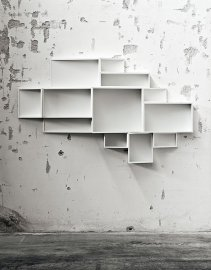 SheLLf Bookcase by Kristalia
