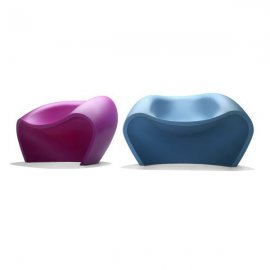 Lovely Lounge Chairs by Parri