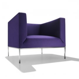 On/Off 1P Lounge Chair by Parri