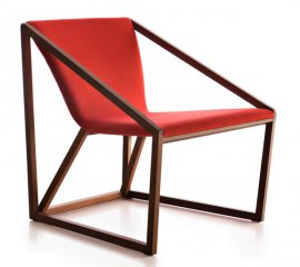 Kite Lounge KIL201 Lounge Chair by Fornasarig