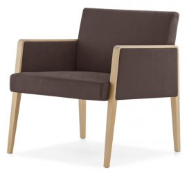 Jil 521 Lounge Chair by Pedrali