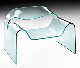 Ghost Lounge Chair by Fiam