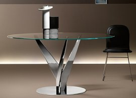 Epsylon Dining Table by Fiam