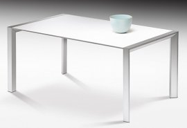 Afill Alluminio Dining Table by Fiam