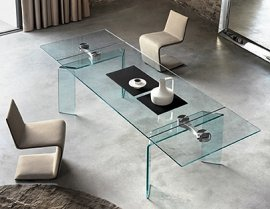 Ray Plus Dining Table by Fiam