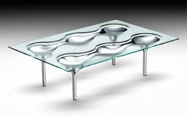 Konx Coffee Table by Fiam