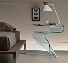 Toki End Table by Fiam