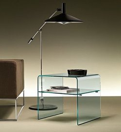 Rialto Night End Table by Fiam