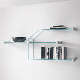 Transistor Bookcase by Tonelli