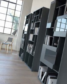 Skyline Bookcase by Doimo