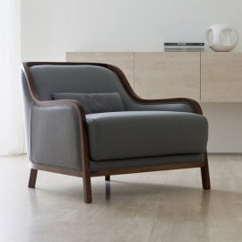 Charlotte Lounge Chair by Porada