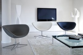 Poppy Lounge Chairs by Tonon