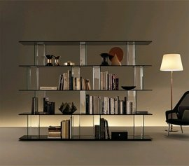 Inori System Bookcase by Fiam