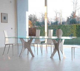 Phanteon Dining Table by Steelline