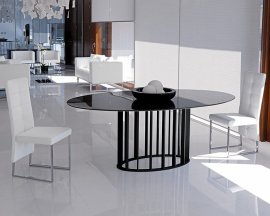 Embassy Glass Dining Table by Steelline