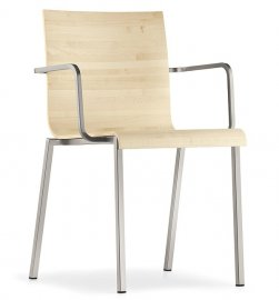 Kuadra XL 2412 Chair by Pedrali