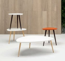 Forme Shield End Tables by Doimo