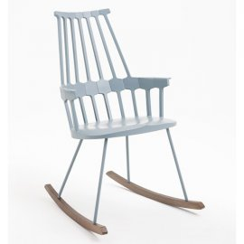 Comback Rocking Chair Lounge Chair by Kartell
