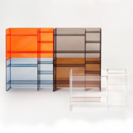 Sound Rack Cabinet by Kartell