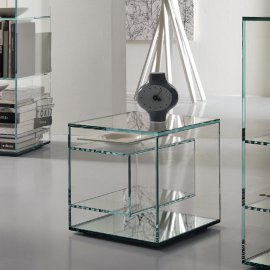Liber E End Table by Tonelli
