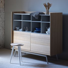 Edge Highboard Cabinets by Miniforms