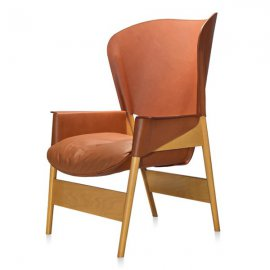 Heta Bergere Lounge Chairs by Frag