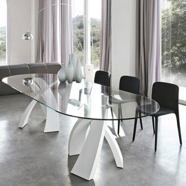 Big Eliseo 8061 Dining Table by Tonin Casa