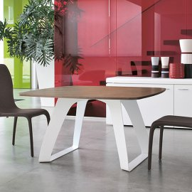Brenta 8057 Fixed Dining Table by Tonin Casa