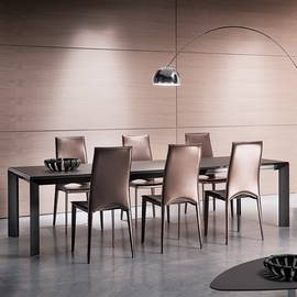Metro T200 Dining Table by Ozzio