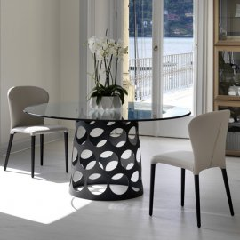 Jean Tondo C Dining Table by Porada
