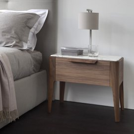 Ziggy Nightstand End Table by Porada