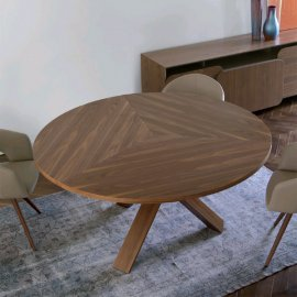 Resort Wood Dining Table by Antonello Italia