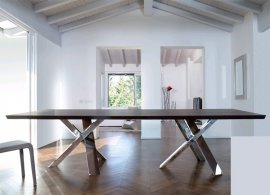Twin Resort Wood Dining Table by Antonello Italia