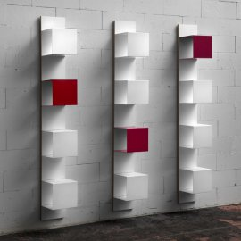 Wall 04/05 Shelving Unit Bookcases by Muller