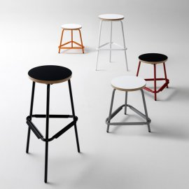 Stool S48 / S82 Stools by Muller