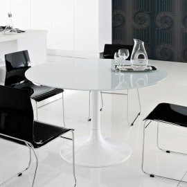 Corona-120 Dining Table by DomItalia
