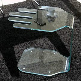 President End Table by Steelline