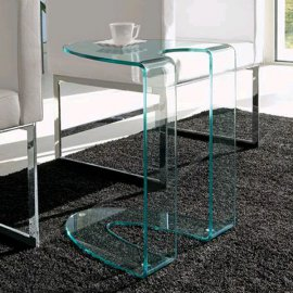 Ambrogio End Table by Steelline