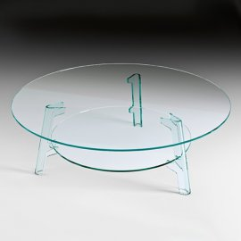 Flute Coffee Table by Fiam