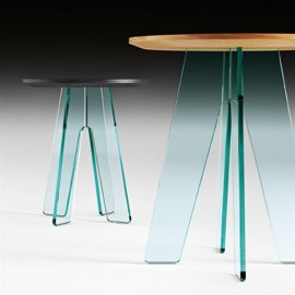 Ovidio End Table by Fiam