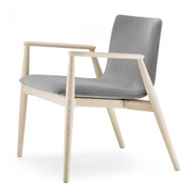 Malmo Lounge 296 Lounge Chair by Pedrali