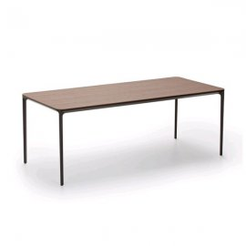 Slim Wood Dining Table by Sovet