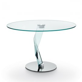 Bakkarat Alto Round Dining Table by Tonelli