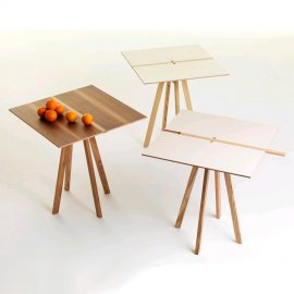 Binario Dining Tables by Valsecchi