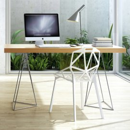 Multi Trestles Desk by TemaHome