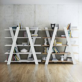Wind Bookcase by TemaHome