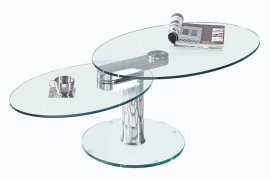 Swing Oval Coffee Table by Viva Modern
