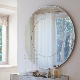 Four Seasons Glass Mirror by Porada